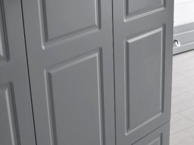 Grey 3 Kapılı Dolap