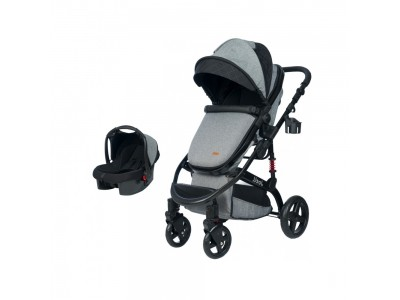 Joell Truva Travel Sistem Bebek Arabası Gri