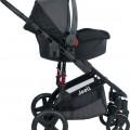 Joell Truva Travel Sistem Bebek Arabası Siyah